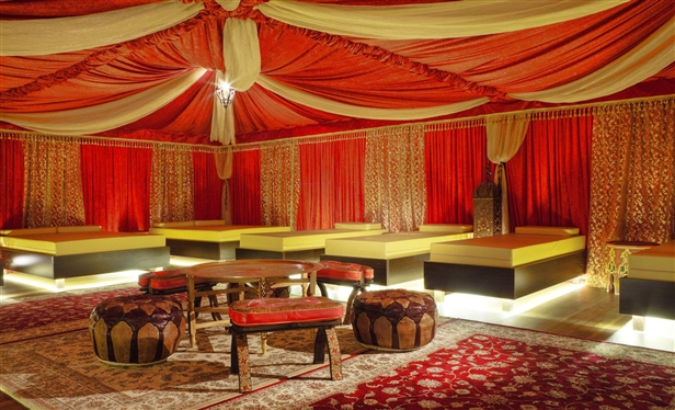 Oriental Relaxation World – Relax gently in a Bedouin tent