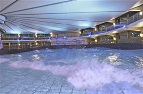 7 heated indoor pools